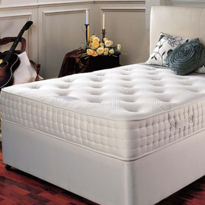 Leonardo 1000 Pocket Sprung 180cm (6ft) Super Kingsize Mattress