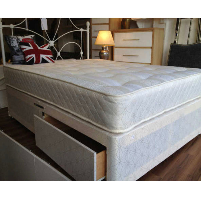 Classic Ortho Pine 120cm (4ft) Three Quarter Divan Bed with No Storage IN STOCK