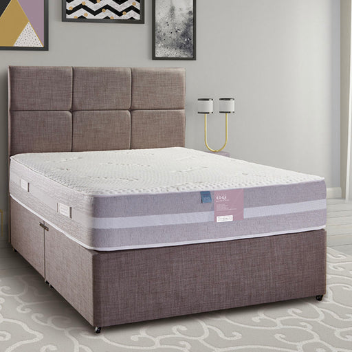 Pennine Beds Ultra Edge Latex Pocket 1000 135cm (4ft6) Double Divan Bed