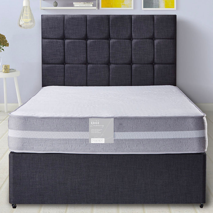 Pennine Beds Ultra Edge Luxury Pocket 1000 150cm (5ft) Kingsize Divan Bed