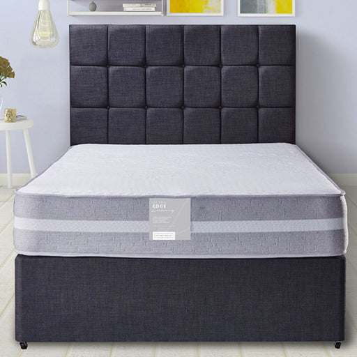 Pennine Beds Ultra Edge Luxury Pocket 1000 120cm (4ft) Three Quarter Divan Bed