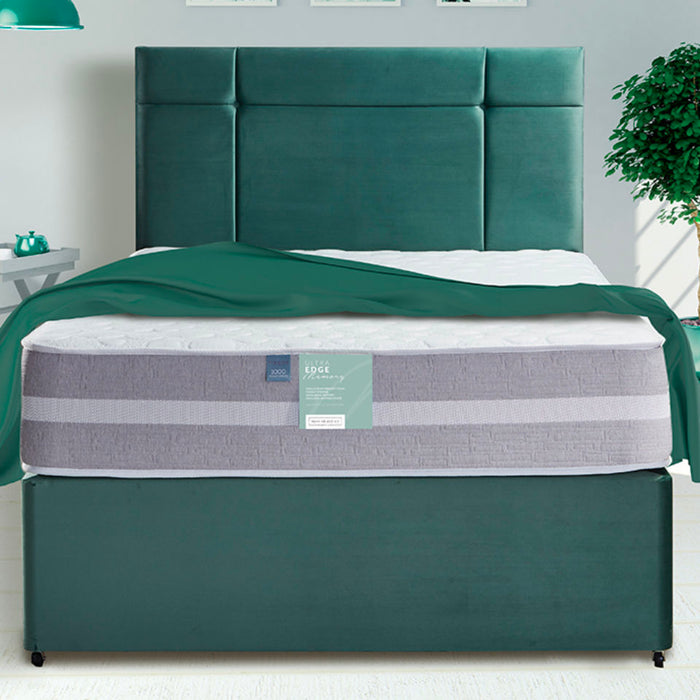 Pennine Beds Ultra Edge Memory Pocket 1000 135cm (4ft6) Double Divan Bed
