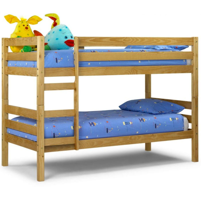 Ranch Wooden Solid Pine Bunk Bed