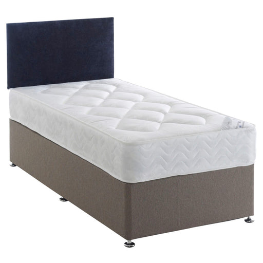 York 90cm (3ft) Single Divan Bed