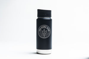 Insulated Coffee Mug - 16oz (matte black)
