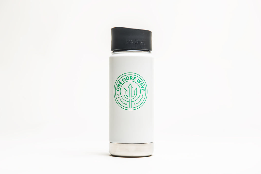 Insulated Coffee Mug - 16oz (glossy white)