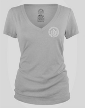Load image into Gallery viewer, Women's V-Neck - Heather Grey