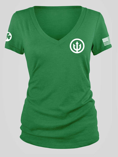 St Patty's V-Neck - Women's