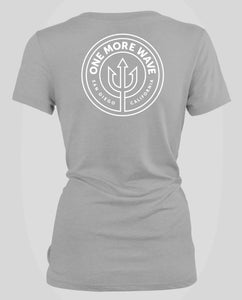 Women's V-Neck - Heather Grey