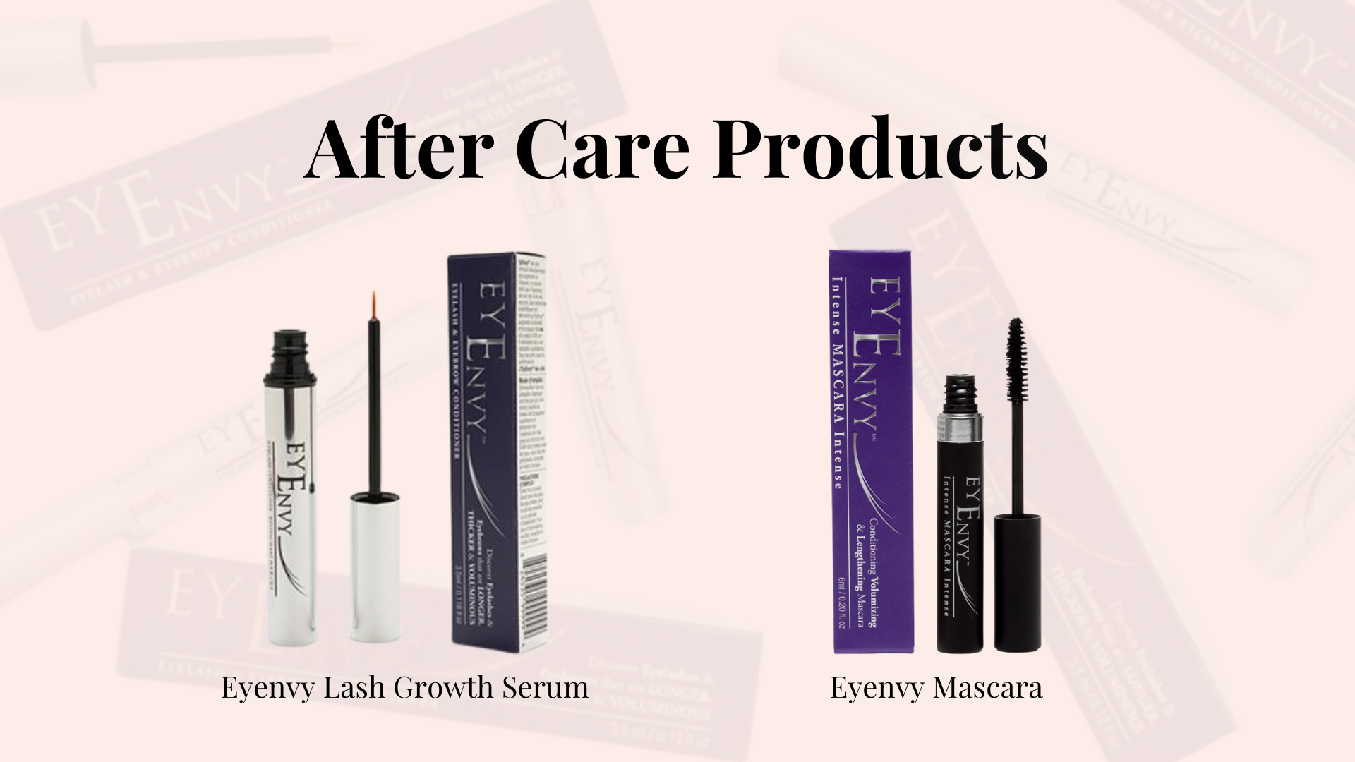 aftercare Eyenvy mascara, Eyenvy, Eyenvy lash growth serum