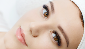 Big fluffy volume eyelash extensions in Duncan