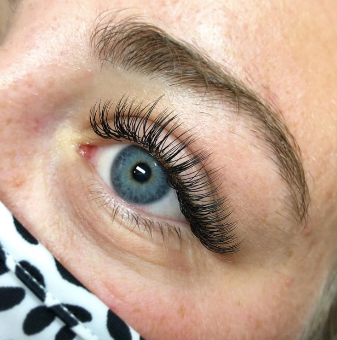 Classic Lashes, Spa, Beauty, Eyes, eyelashes, salon, natural, relaxation, self care, health