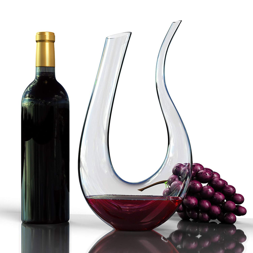 1.5 L Horn-Shaped Wine Decanter