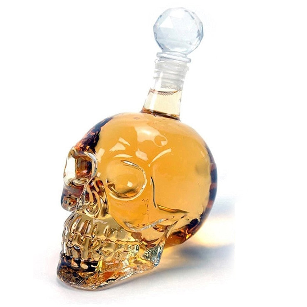 Skull-Shaped Whiskey Decanter (125 ml/350 ml/550 ml/1000 ml)