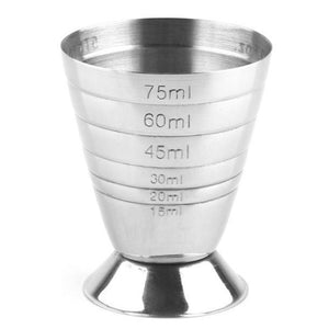 Multi-level Jigger, 15-75 ml (Silver / Gold)