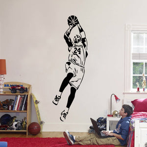 Lakers - Kobe Bryant Wall Decal (12 Colors Available)
