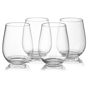 Classic Stemless Wine Glass - Set of 4