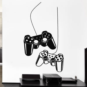 Game Controller Design Wall Decal (12 Colors Available)