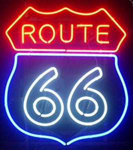 ROUTE 66 - Neon Sign
