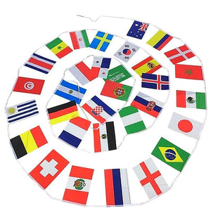 2018 FIFA World Cup Flags