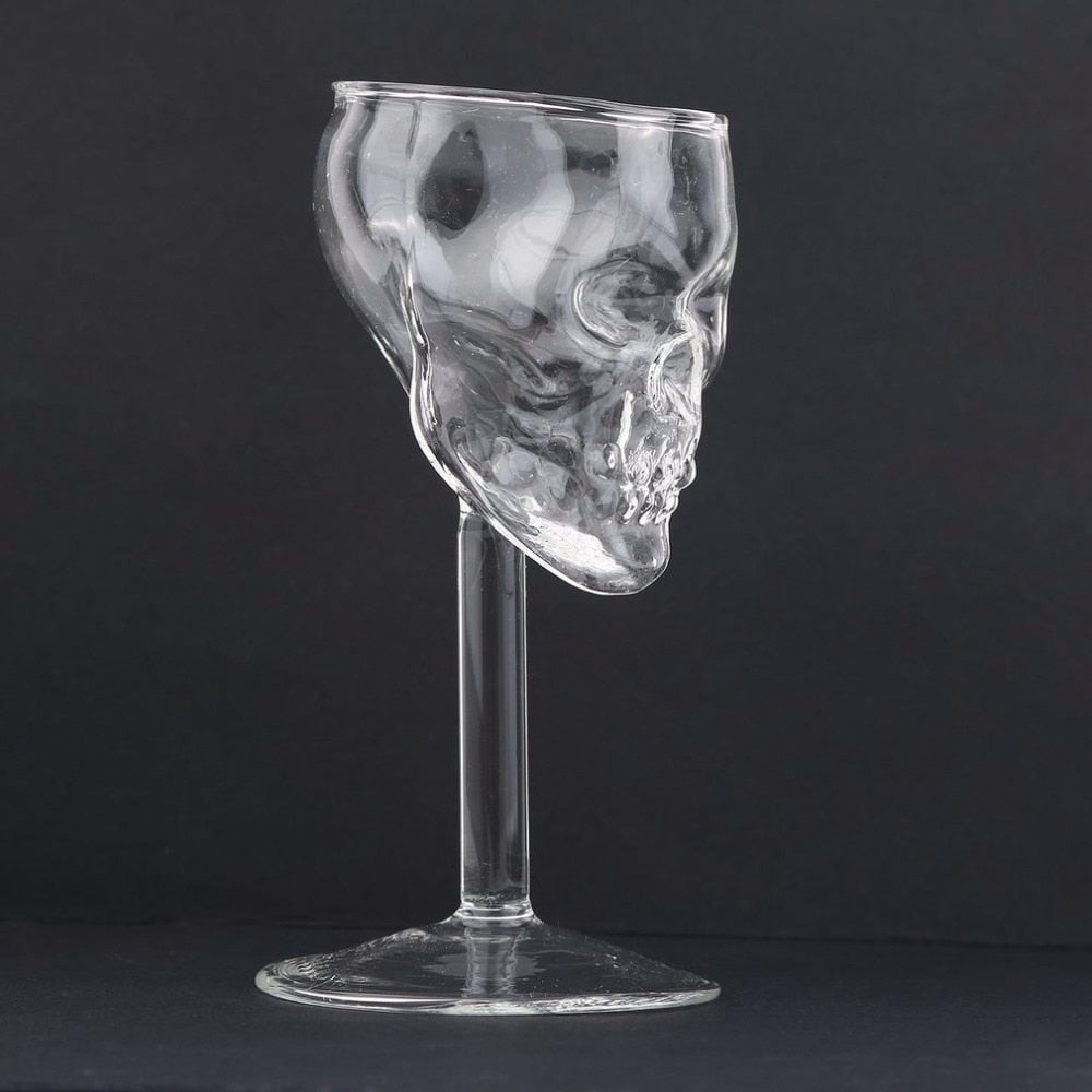 Skull-Shaped Wine Glass - Set of 4