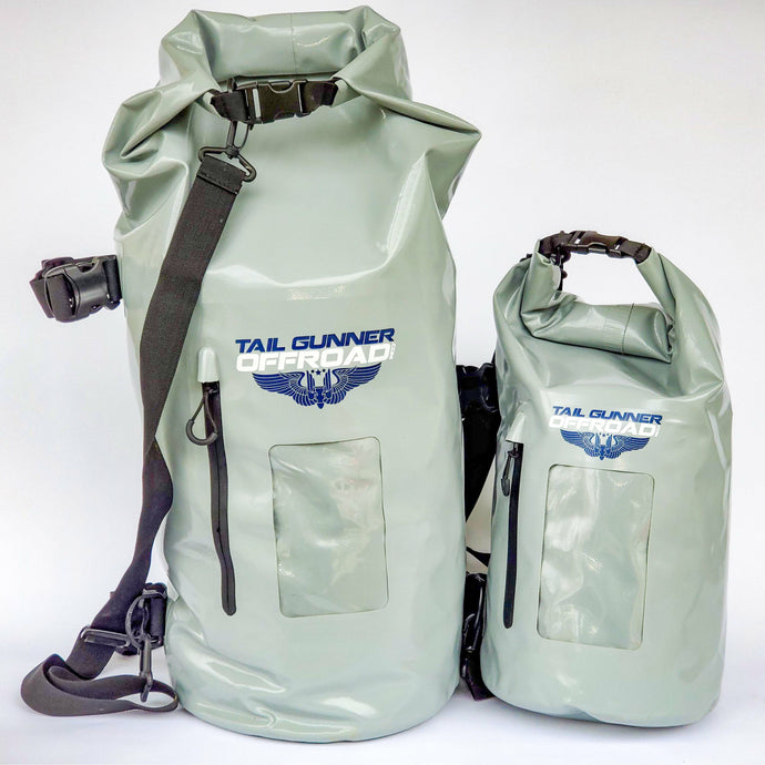 45 liter and 15 liter dry storage bag