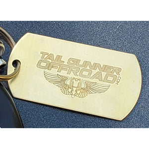 """Tail Gunner Off-Road"" Logo Key Chain"