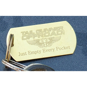 """Just Empty Every Pocket"" Key Chain"