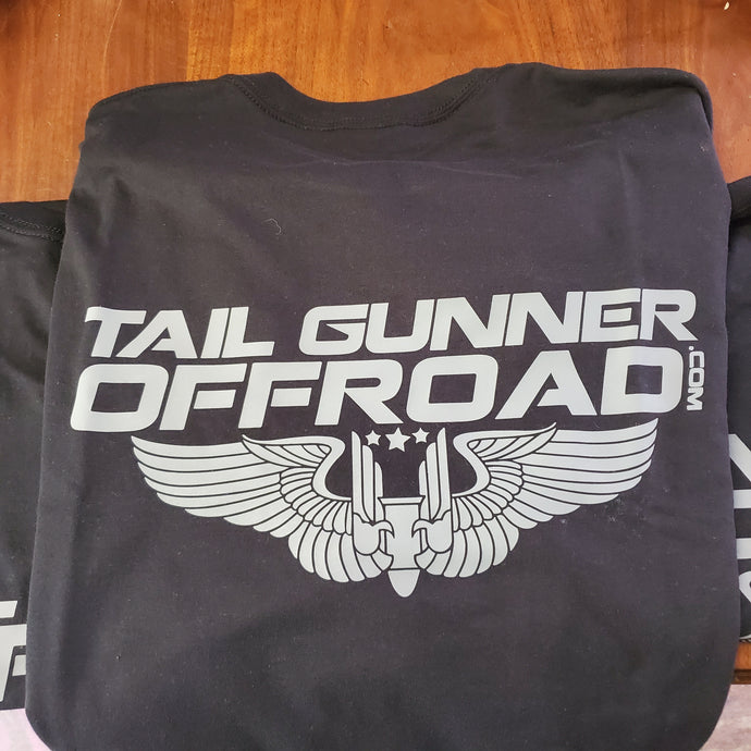 Tail Gunner Off-Road t-shirt in black