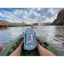 Load image into Gallery viewer, 15 liter dry storage bag in a kayak