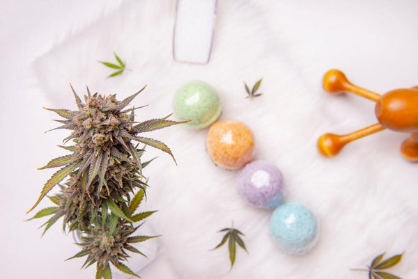 How to Make Bath Bombs with CBD Flower | Secret Nature