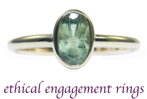Ethical Engagement Rings by Beryllina