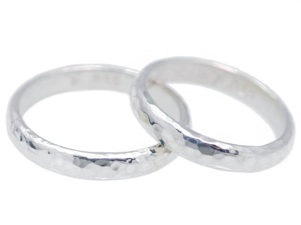 Reflections ethical wedding bands handmade by Beryllina