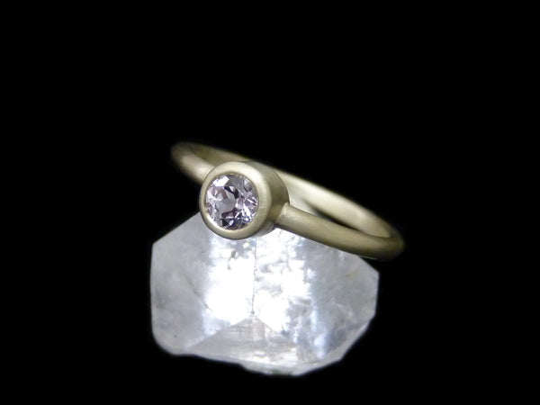 Ethical engagement rings by Beryllina, custom made in MA