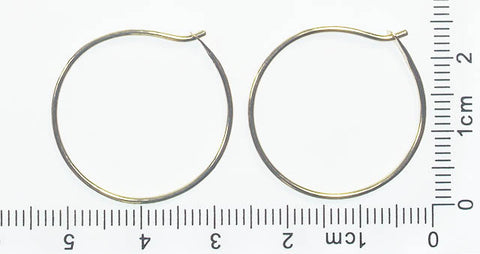 Gold Circlet Hoops