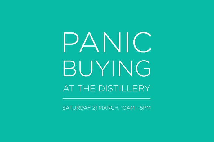 Panic buying at the distillery