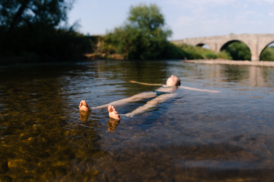 Wild Swimming & Glamping in the Wye Valley