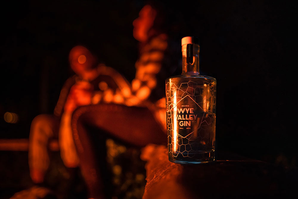 Glamping with Wye Valley Gin