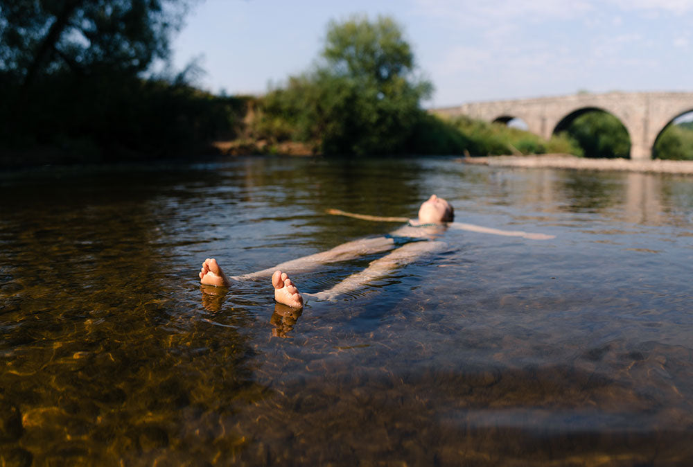 Wild Swimming in the Wye Valley