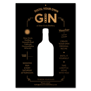 Make your own gin - Gift card