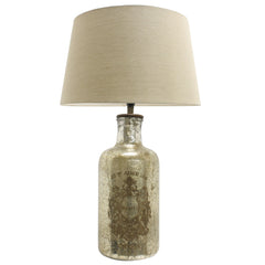 French Mercury Lamp with taupe shade
