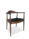 Dining Armchair - Hans Wegner Replica - Dark Walnut