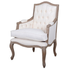 Flaubert Cream Armchair