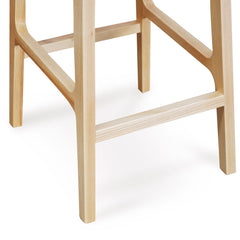 Bar Stool - Black - Natural