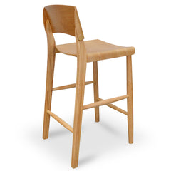 Levi Bar Stool in Natural