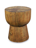 Reclaimed Wooden Low Stool