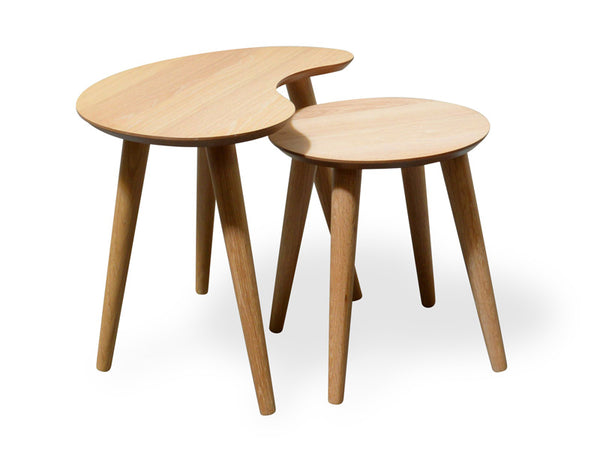 Nest of Side Tables - Natural