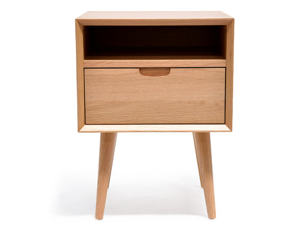 SQ Wooden Bedside Table