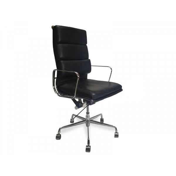 Soft Pad Office Chair - Eames Replica - Black