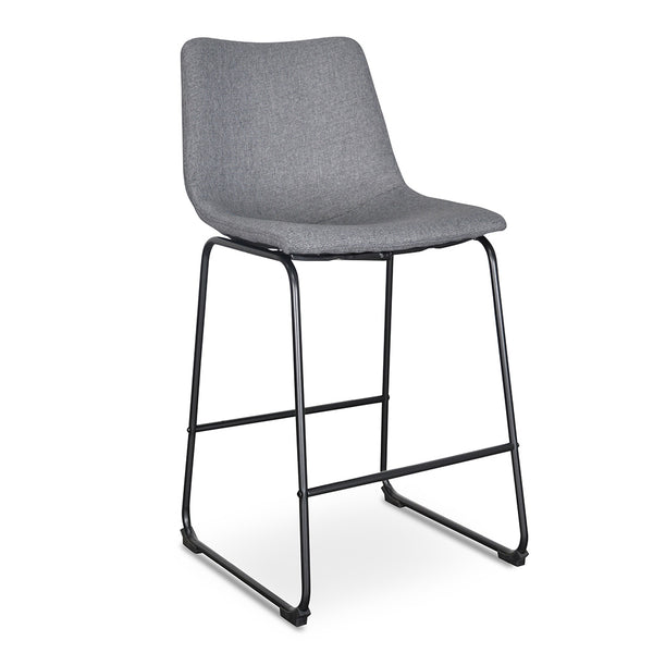Bar Stool - Dark Grey x2